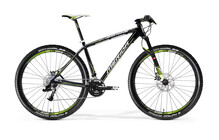 Merida Big Nine Lite Team Issue zwart